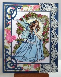 Fairy in the Garden by alundgren - Cards and Paper Crafts at Splitcoaststampers