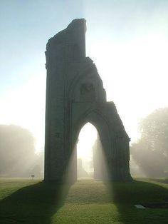 Glastonbury, England - the resting place of King Arthur