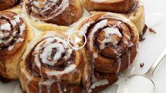 Challah Dough Cinnamon Buns