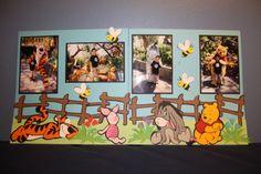 Free Disney Scrapbook Layouts | Disney Scrapbook LayoutsSmileScrapbook