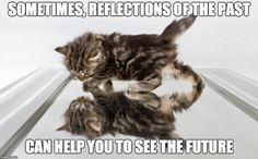 Sometimes, reflections of the past can help you to see the future.