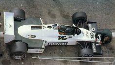 FW08C Cosworth 1983  Diseñado por Patrick Head, Neil Oatley  Pilotos: Keke Rosberg y Jacques Laffite y Jonathan Palmer
