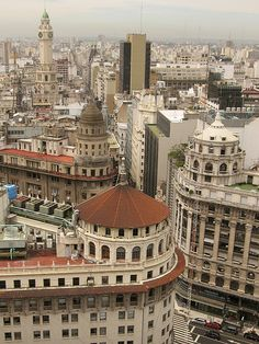 Domes in Buenos Aires- Argentina Latin America, South America, Argentine Buenos Aires, Beautiful World, Beautiful Places, Art Nouveau Arquitectura, South Of The Border, Argentina Travel, Central America