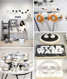 Aujourd'hui, je reviens en force avec un article pour vous donner tous les trucs dont vous avez besoin pour faire une super fête d'anniversaire sur le thème de Star Wars! Mon petit Maé aura 4 ans …