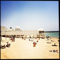 La Caleta (Cádiz), by @Kleinplanet311 #playa #Cádiz