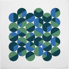 #464 Process over results – A new minimal geometric composition each day