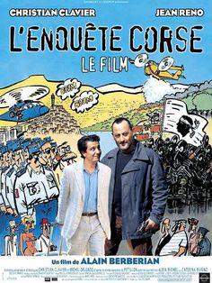 L´enquête corse; comédia; 2005; legenda em francês; 98 min