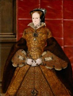 Mary I Queen of England and Ireland. Daughter of Henry VIII and Catherine of Aragon. Wife to Philip II of Spain Mary I Of England, Queen Of England, Elizabeth Taylor Jewelry, Elizabeth I, Renaissance, Katherine Howard, Tudor Fashion, Catherine Of Aragon, Royal Academy Of Arts