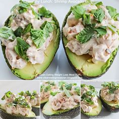 Enjoy shrimp and avocado recipe from Clean Eating Weight Loss Meal Plan blog at http://cleaneatingmealplan.blogspot.com/2015/01/healthy-lunch-shrimp-avocado-boat.html | #cleaneating #diet #healthyeating