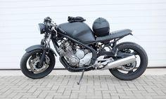 Yamaha XJ 600 Diversion, Custom Black Matte