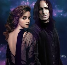 Severus Snape, Snape And Hermione, Severus Rogue, Fan Edits, Rogues, Just Go, Hogwarts, Fantasy Art, Past