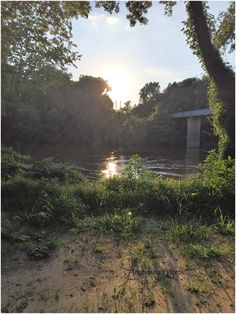 Thomasina's Words: Sunset on The Cape Fear River