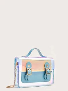 Women's Bags | Crossbody Bags, Backpacks & More | ROMWE USA Chain Crossbody Bag, Satchel Bag, Cheap Bags, Romwe, Holographic, Suitcase, Backpacks, Accessories, Usa