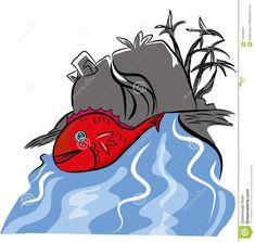 Red fish illustration – illustrations and cartoons