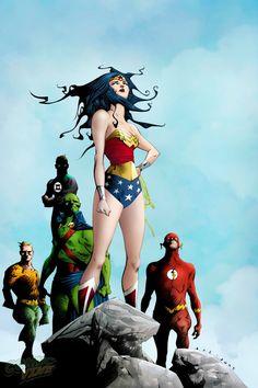 Wonder Woman #8 - Justice League by Jae Lee *