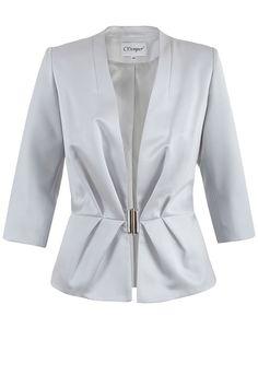 Żakiet Andrea popiel Semper  #fashion #aw2016 #fw2016 #jacket #semper #grey #jacket #outfit #elegance #elegant #brandedfashion
