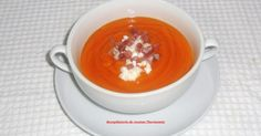 Recetas de cocina thermomix Gazpacho, Tea Cups, Pudding, Tableware, Kitchen, Desserts, Food, Appetizers, Cooking Recipes
