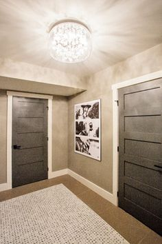 Funky Fresh Basement - contemporary - Entry - Other Metro - Madison Taylor