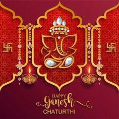 Lord Ganesha Paintings, Lord Shiva Painting, Happy Ganesh Chaturthi Wishes, Ganpati Decoration Design, Happy Birthday Love Quotes, Diwali Festival Of Lights, Ganesh Wallpaper, Ganesha Pictures, Festival Image