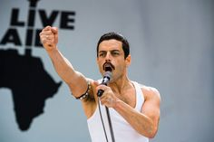 """How many of these four races will """"Bohemian Rhapsody"""" win? Its best bet: Rami Malek for his portrayal of Queen lead singer Freddie Mercury. Rami Malek Freddie Mercury, Queen Freddie Mercury, Mahershala Ali, John Deacon, Hollywood, Bryan Singer, Live Aid, Bon Film, The Avengers"""