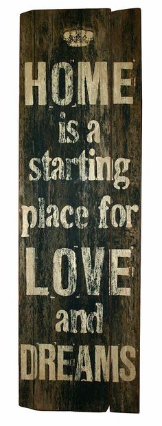 Love this quote about love and home!