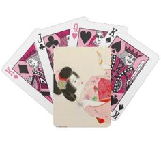 Ito Shinsui Make up vntage japanese geisha lady Card Decks