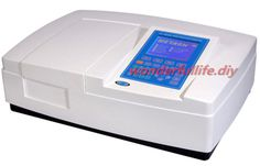 Large LCD display UV-8000A Double Beam Ultraviolet/Visible Spectrophotometer Wavelength Range 190-1100nm Bandwidth 1.0nm