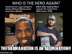 Obama may recognize a gay basketball player and a cross dressing pecker tucking Jenner as a hero but WE DONT! Chris Kyle Is Americas Hero! Along with all the other Enlisted/Vets that keep us safe and have given their lives for FREEDOM!
