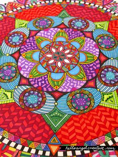 Mandala Art by Angel Van Dam, Angel Creative from New Zealand