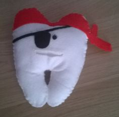 Tooth Pirate pillow