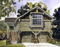 Garage apartment plans are closely related to carriage house designs. Typically, car storage with living quarters above defines an apartment garage plan. View our garage plans. Cottage Floor Plans, Bedroom Floor Plans, Craftsman House Plans, Modern House Plans, Small House Plans, House Floor Plans, Garage Apartment Floor Plans, Garage Apartments, Garage Plans