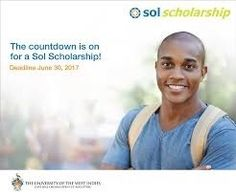 #Scholarship for students enrolled at the Cave Hill, Mona, St Augustine and Open Campuses. Deadline is July 14th
