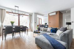 Kanapa w salonie: tak zaaranżujesz pokój w bloku. 10 dobrych wnętrz - Galeria - Dobrzemieszkaj.pl
