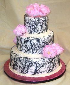 with different color flowers i would really like this cake