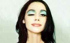 PJ Harvey face portrait