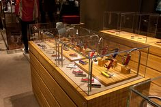 Victorinox store by Design Republic Partners, Boston #detail