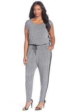 9018517bcf8 MICHAEL Michael Kors  Lansdown  Herringbone Print Jumpsuit (Plus Size)  available at