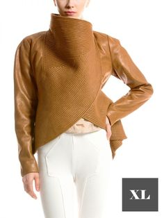 Gracia Fashion specializes in unparalleled designs of clothing and apparel that help extraordinary women stand out. Peplum Jacket, Cute Jackets, Woman Standing, Faux Leather Jackets, White Jeans, Fashion Looks, Skinny Jeans, Clothes, Outfits