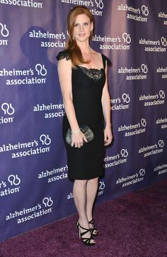 "Sarah Rafferty Photos - Actress Sarah Rafferty arrives at Annual ""A Night At Sardi's"" Gala Benefiting The Alzheimer's Association - Arrivals at The Beverly Hilton Hotel on March 2013 in Beverly Hills, California. - 'A Night At Sardi's' Benefit Gala Sarah Rafferty, Donna Harvey, Donna Paulsen, Sarah Gray, Gina Torres, Lil Black Dress, Dress Suits, Dresses, Suit Fashion"