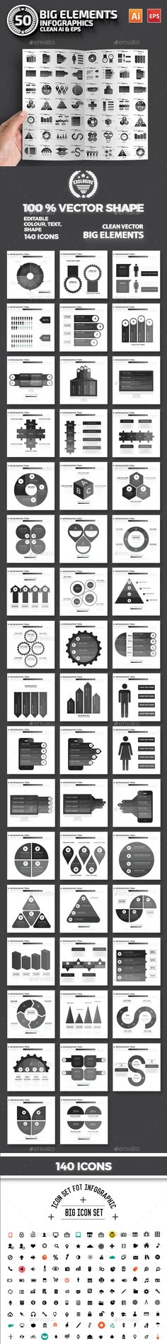 Infographic Tutorial infographic tutorial illustrator cs2 download : Infographic Flat Elements Template Vector EPS, AI. Download here ...