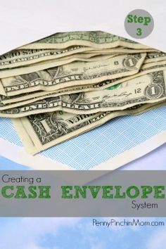 Creating Cash Envelopes to help you learn to manage your money and get out of debt