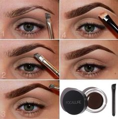 Eye makeup can complement your attractiveness and make you look and feel fabulous. Learn the way to use make-up so that you can show off your eyes and make an impression. Discover the most effective ideas for applying make-up to your eyes. Beauty Make-up, Beauty Hacks, Beauty Tips, Beauty Zone, Anastasia Dipbrow Pomade, Anastasia Brow, Abh Brow Pomade, Filling In Eyebrows, Eyebrow Tinting
