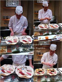 Tsukiji Fish Market Tsukiji Sushi Kiyoshi (Head office)  4-13-9 Tsukiji, Chuo-ku, Tokyo  Telephone: 03-3541-7720