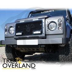 The Land Rover Defender (MY07) Lazer Grille allows for the stylish and sleek integration of Lazer High Performance LED driving lamps contained within a bespoke