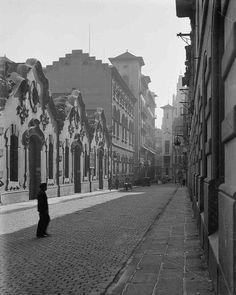Barcelona años 30 Carrer Ortigosa