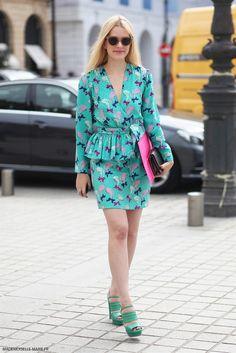 Stephanie Erbilgin at Paris Fashion Week Haute Couture