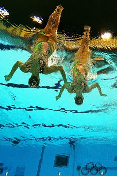 @L2012PoolCam The world's turned upside down. Even the Olympic Rings. #London2012 #Aquatics Centre