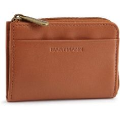 Hartmann Belting Leather Small Zip Wallet,Natural,One Size $55.00