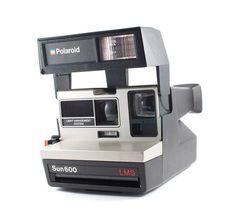 Vintage Polaroid Camera Sun 600 LMS
