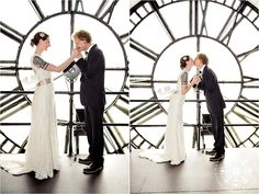 Downtown Denver Clocktower Wedding Ceremony & Reception Venue- A perfect city wedding venue. via Rachel Olsen Photo